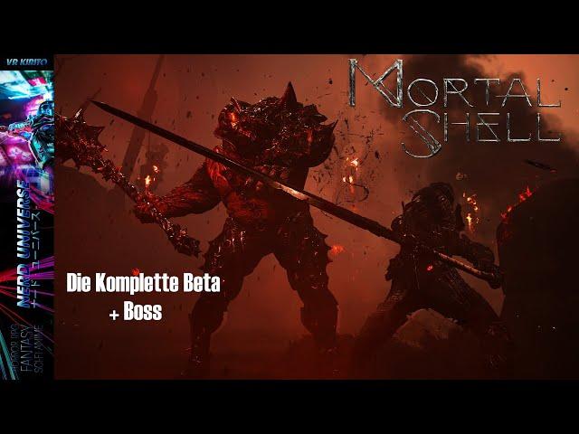 Mortal Shell - Die komplette Beta + Boss - Gameplay, Grafik, Kampfmechanik ☬ Closed Beta [Deutsch]