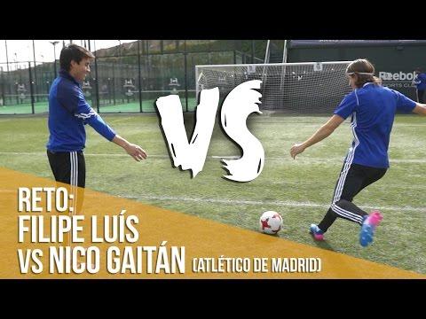 Reto Filipe Luís y Nico Gaitán