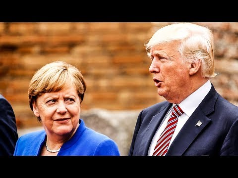 Trump Told German Chancellor She Owes Him...