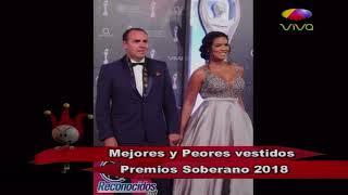 Video Segunda Parte de Los Mejores y Peores Vestidos en Los Premios Soberano 2018 download MP3, 3GP, MP4, WEBM, AVI, FLV November 2018