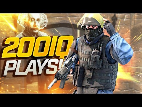 SMARTEST PRO CS:GO PLAYS 2019