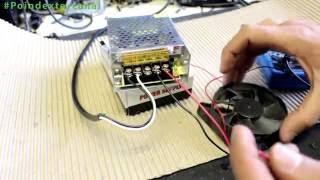 como ligar fonte 12V chaveada 5A   que usa em eletrônica cftv led- video fullHD