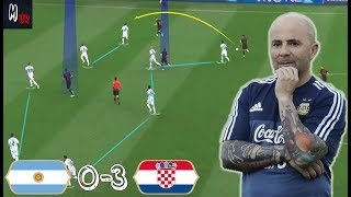 What Went Wrong For Argentina Against Croatia? Tactical Analysis