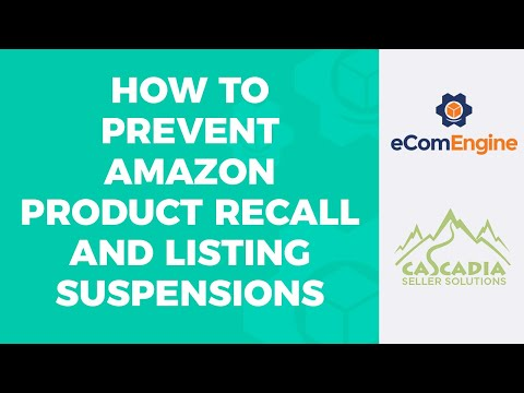 Avoid Product Recall, Listing Suspension or Worse