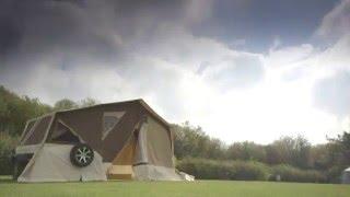Raclet Panama Up AĮl Terrain trailer tent