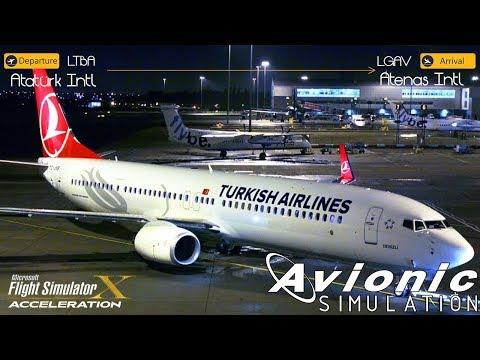 [FSX/IVAO] EuroTrip Alternativa - DEP Atatürk Intl [LTBA] / ARR Atenas Intl [LGAV] Turkish Airlines
