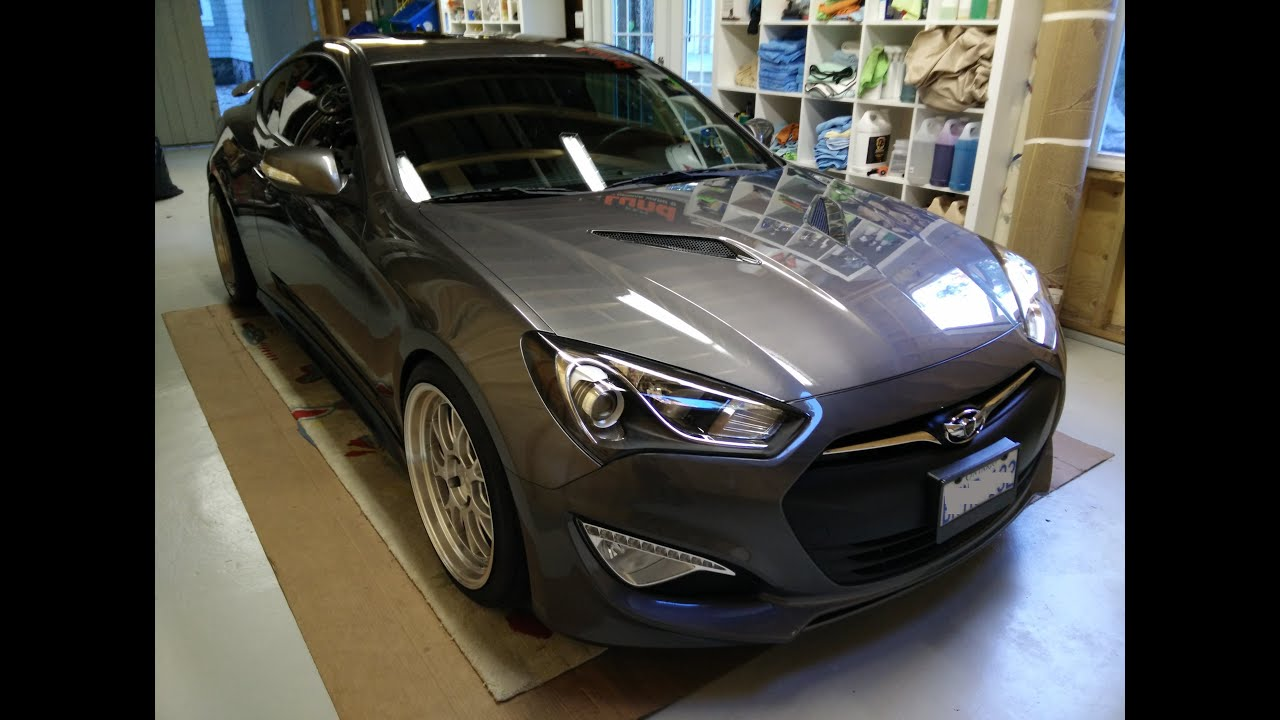 Hyundai genesis coupe car wash and detailing reaction paint hyundai genesis coupe car wash and detailing reaction paint correction youtube solutioingenieria Choice Image