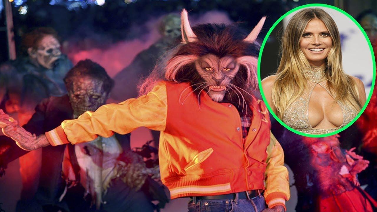 Heidi Klum's 18th Annual Halloween Party 2017 | Michael Jackson's ...