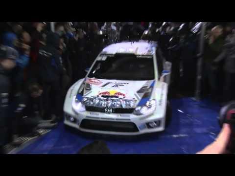 Volkswagen Motorsport - Rally Monte Carlo - 18 January 2014 - Footage