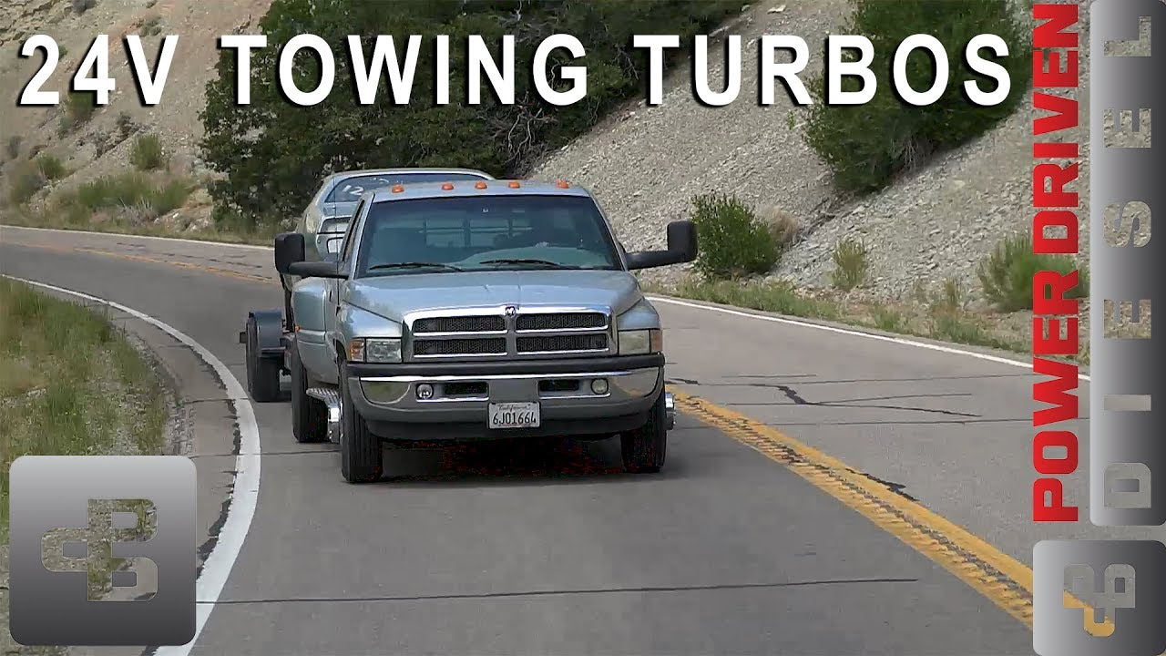 Towing Turbos For 24v Vp44 Cummins Diesel Power Driven Diesel Youtube