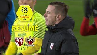 FC Metz - OGC Nice (2-1)  - Résumé - (FCM - OGCN) / 2017-18