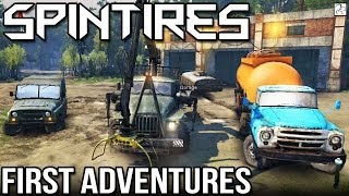 SPINTIRES - Full Beta Release Version - First Adventures! (Spin Tires)