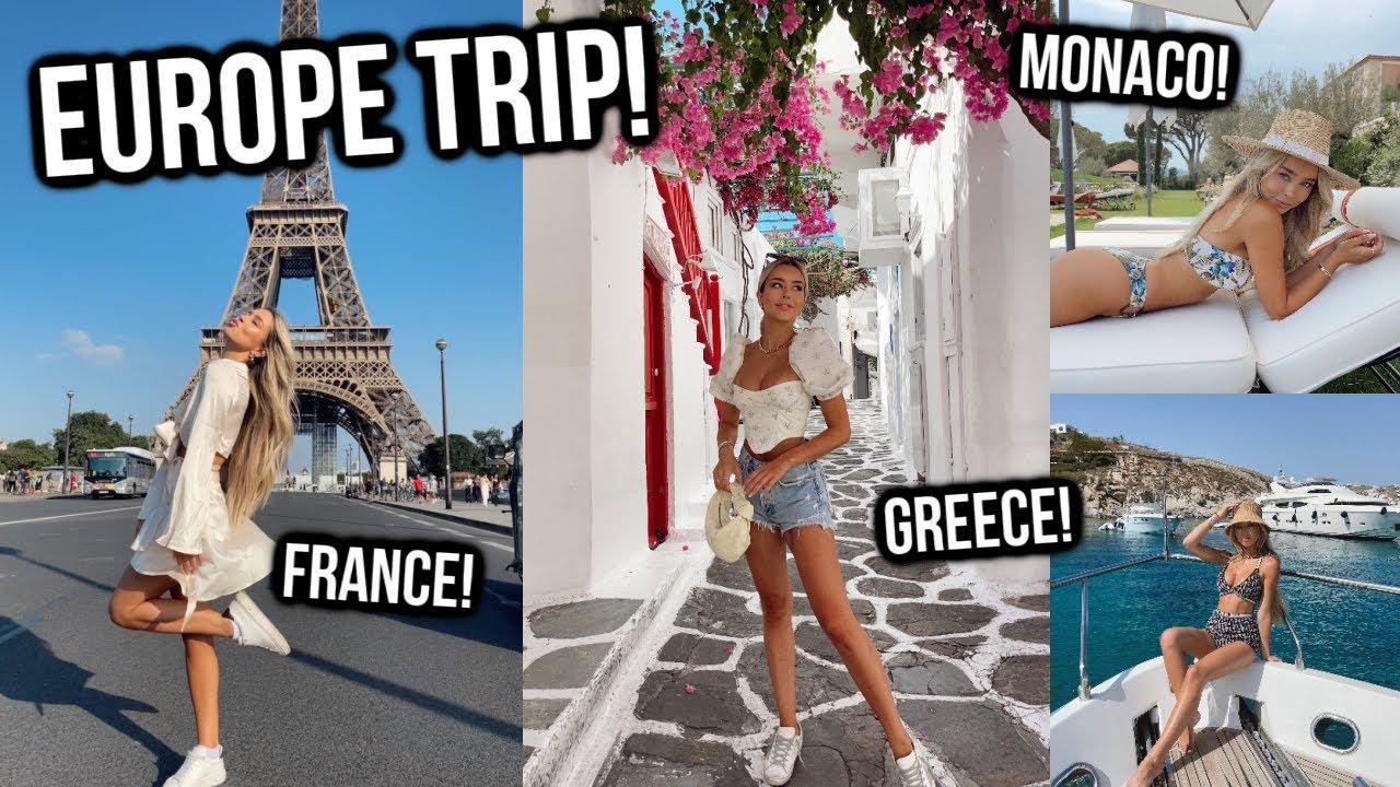 Download Europe Vlog! Paris! St. Tropez! Monaco! Mykonos!