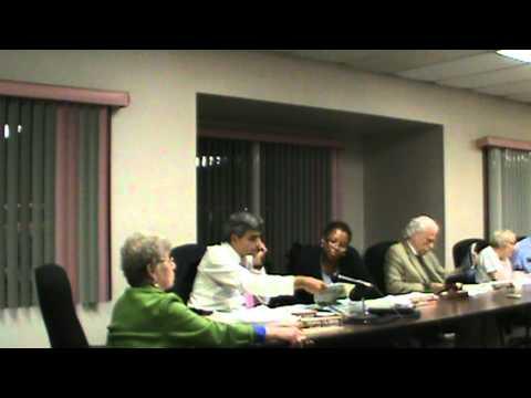 Village of Chestnut Ridge NY Village Board meeting September 2011