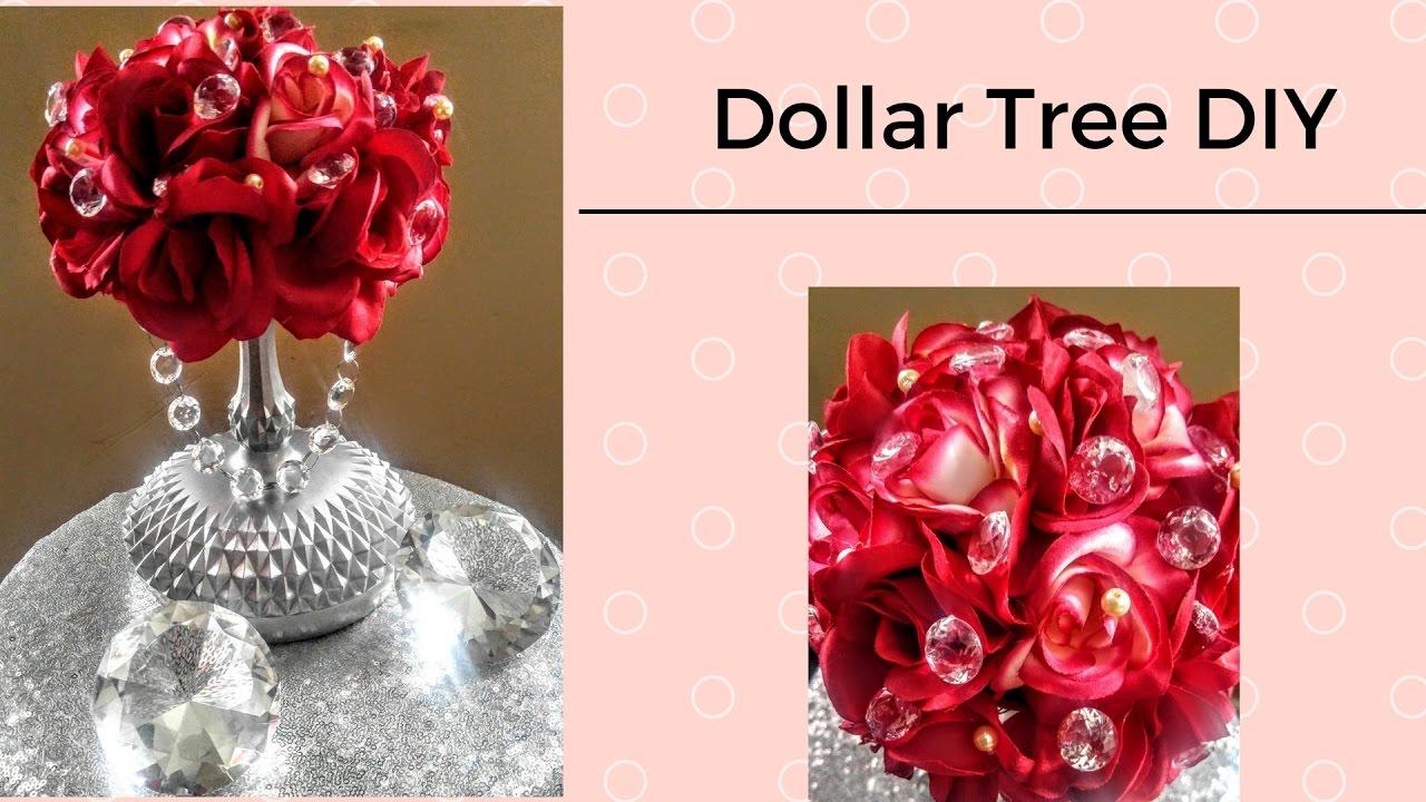 DIY Dollar Tree 💎Luxurious Centerpiece💎 Weddings or Holidays| B ...