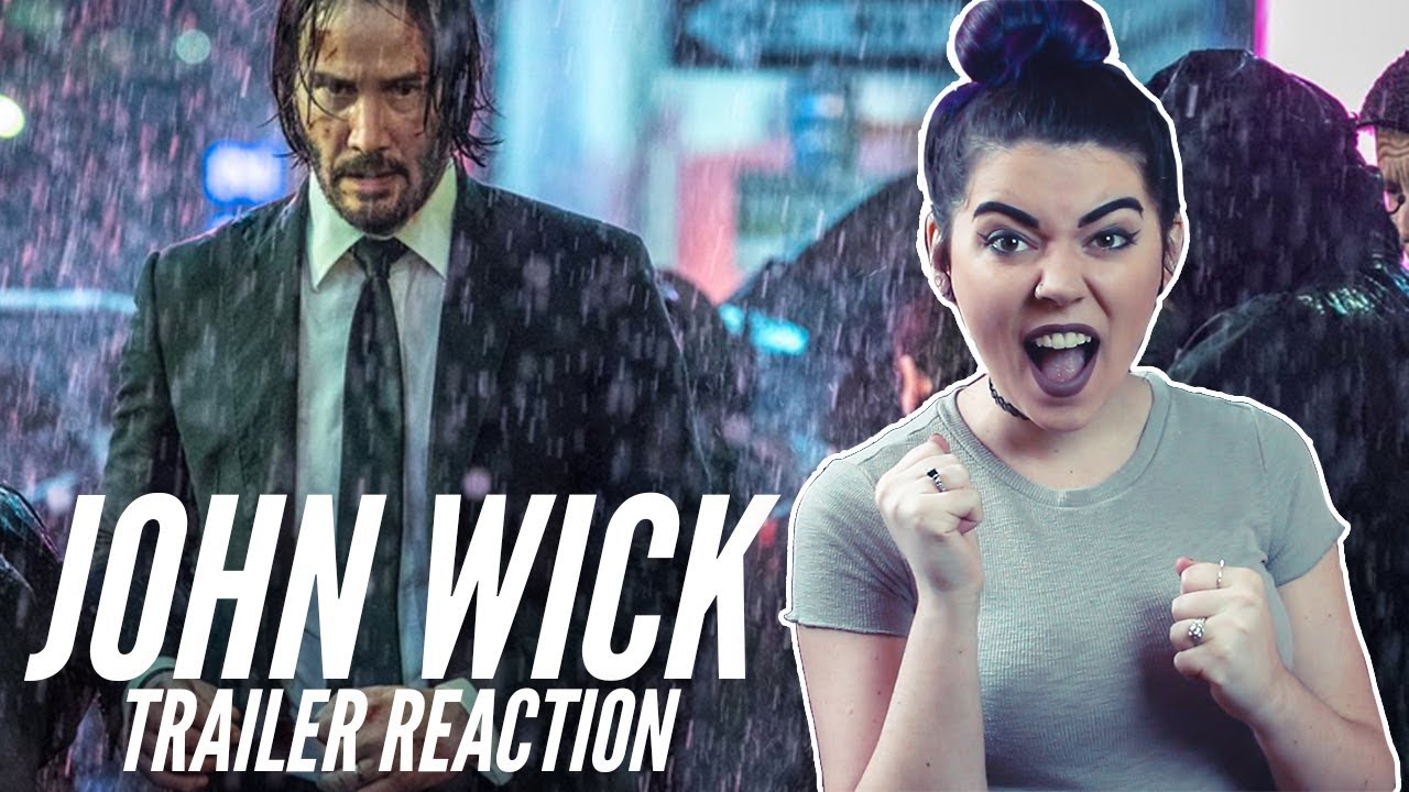 John Wick Chapter 3 Trailer Reaction Youtube