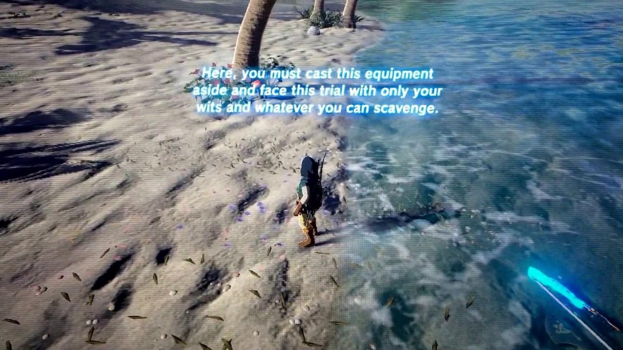 Zelda BotW - Eventide Island trick/glitch
