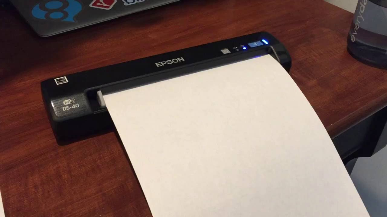 Epson Ds 40 Wifi Portable Document Scanner