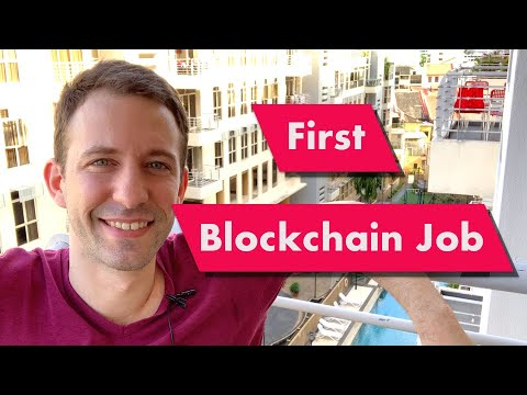 How to find your first Blockchain Job in 2020?