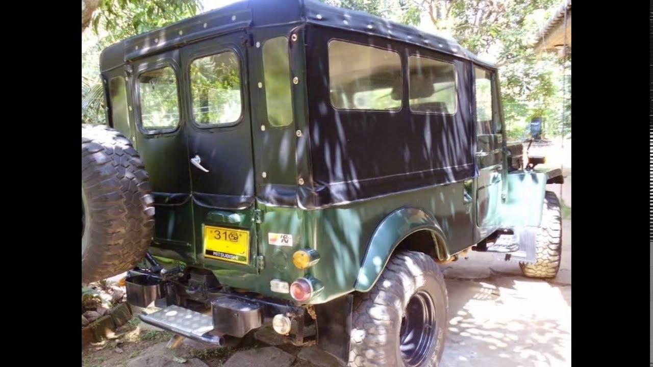 Jeep For Sale Sri Lanka: Mitsubishi 4DR5 Jeep For Sale In Sri Lanka