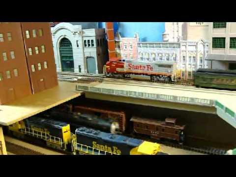Joe Baldwin's Model Railroad - Colorado & Santa Fe
