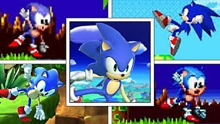 Evolution Of Sonic The Hedgehog Balancing Animation (1991-2019) Genesis, PS2, Smash Ultimate & More
