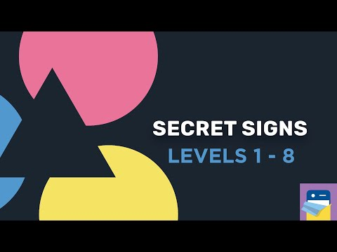 Secret Signs: Levels 1 2 3 4 5 6 7 8 Walkthrough Guide & iOS / Android Gameplay (by Wouter Walmink)