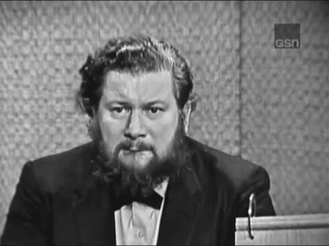 What's My Line? - Gil Hodges; Peter Ustinov; Eamonn Andrews & Kitty Carlisle [panel] (May 26, 1963)