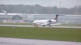 HD Eurowings Canadair CL-600-2D24 Regional Jet CRJ-900LR landing at Geneva/GVA/LSGG