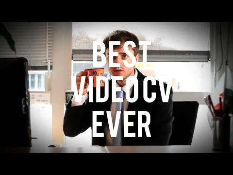 BEST VIDEO CV EVER  MARK LERUSTE   YouTube