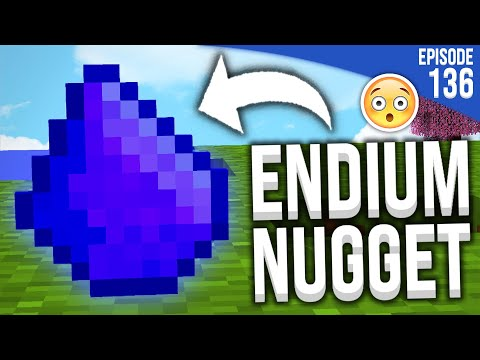 J'AI TROUVÉ... DE L'ENDIUM ?!  | Minecraft Moddé S4 | Episode 136