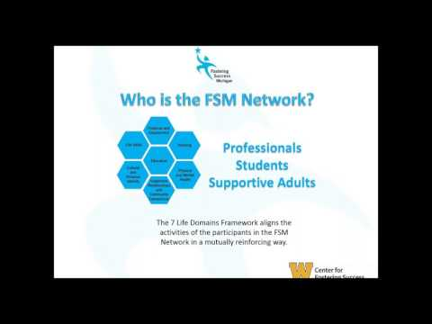 FSM Network Webinar  Holistic Success for Youth with Experie