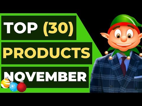 Top 30 WINNING Products In NOVEMBER 2019 | Shopify Dropshipping thumbnail