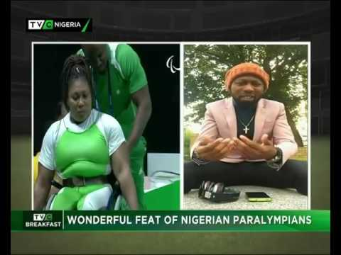 Shoggy Tosh on TVC Breakfast & TVC News analysing the 2016 Paralympics in Rio
