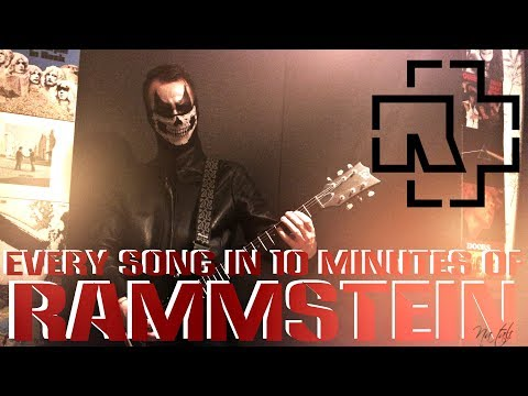RAMMSTEIN Discography On Guitar