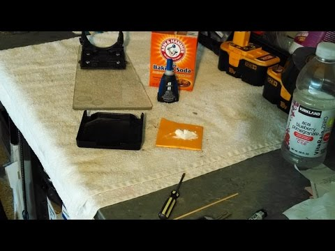 Home Repair super glue and baking soda by froggy