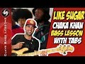 LIKE SUGAR BASS Lesson With TABS CHAKA KHAN mp3