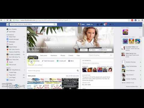 How to post in Groups on Facebook using a permalink