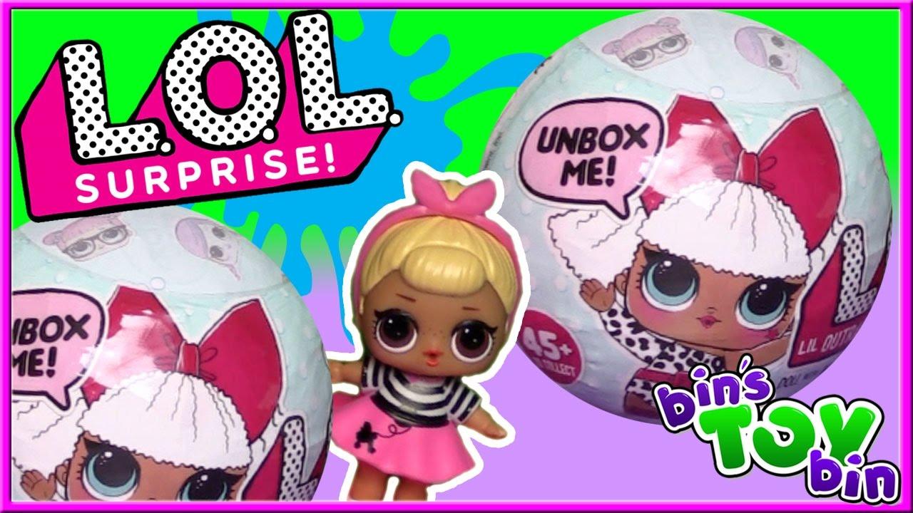 L O L Lil Outrageous Littles Surprise Baby Dolls Openi