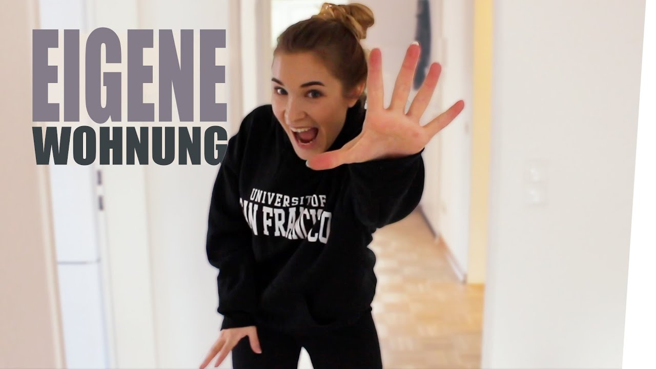 ERSTE EIGENE WOHNUNG - ROOMTOUR | janasdiary - YouTube