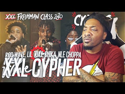 NLE Choppa, Rod Wave, Lil Tjay and Chika's 2020 XXL Freshman Cypher (REACTION!!!)