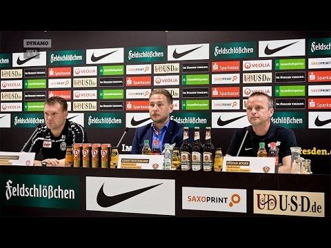 14. Spieltag | SGD - Köln | Pressekonferenz nach dem Spiel