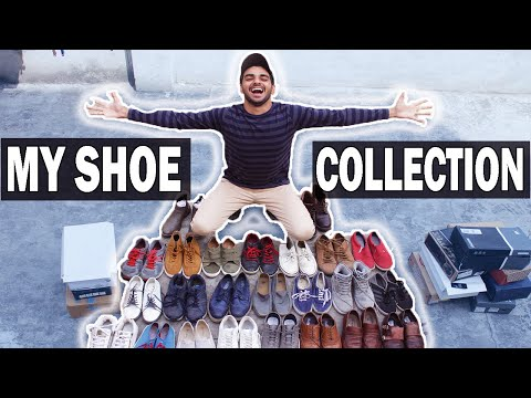 MY MASSIVE SHOE collection 2018 | Best and cheapest shoes for Indian Men