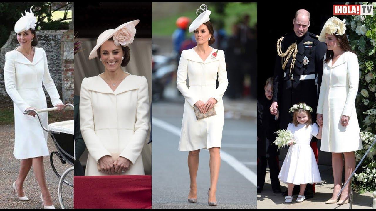 Descubre Por Qué Kate Middleton Repitió Un Vestido En La Boda De Harry Y Meghan Hola Tv