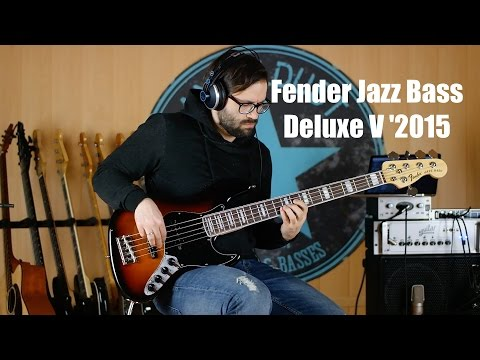 Fender Jazz Bass Deluxe 5 2015 | angeldust-guitars.com