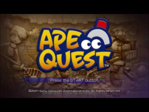 Ape Quest Title Theme Animatic (2007, Sony Computer Entertainment)