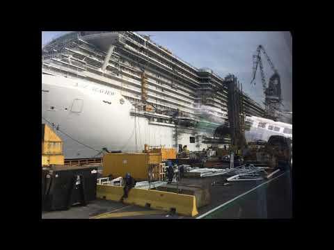 Fincantieri Monfalcone: dove nascono le navi più belle del mondo