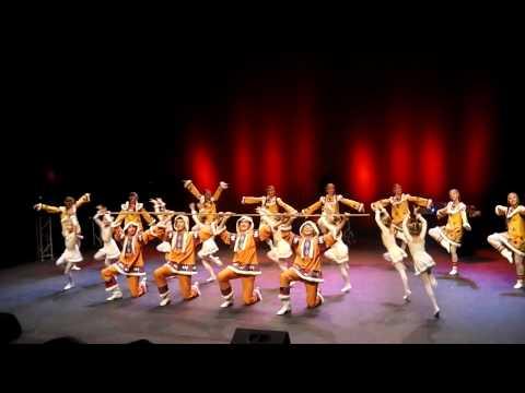 Якутский танец Ансамбль Локтева