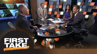 Stephen A., Max, and Matthew Berry break down 2018 RB fantasy depth chart | First Take | ESPN