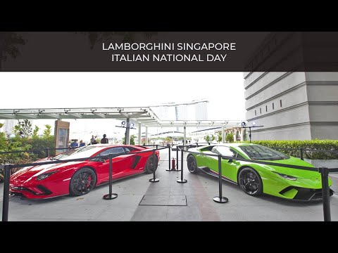 Huracán Performante x Aventador S   Lamborghini Singapore
